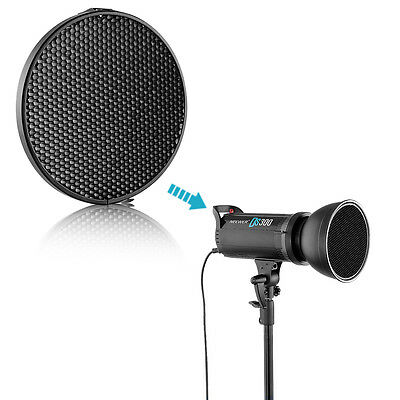 """Neewer 6.6""""/16.8c Honeycomb Grid Set with Bowens 7"""" Standard Reflector Diffuser"""
