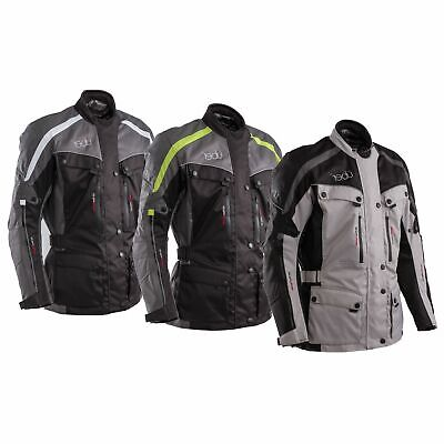 Uber Highway 3/4 Motorcycle Motorbike Waterproof Textile CE Armoured Jacket