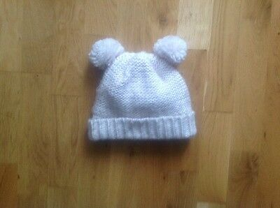 Girl Pink Winter Hat Age 3-6 Years