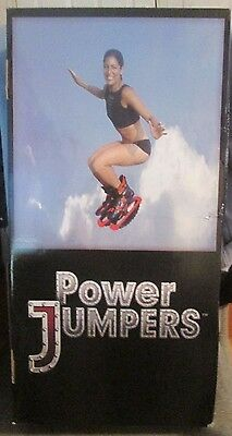 Jumping Jax Power Jumpers - For Adults Only - Aerobic Workout - Size Large