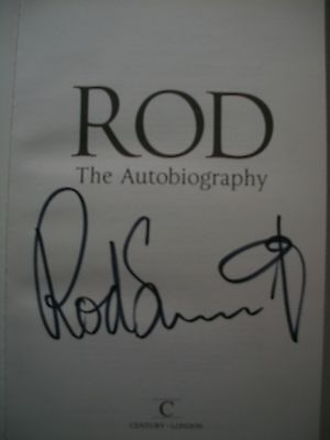 Rod Stewart Hand Signed H/B Book Rod The Autobiography