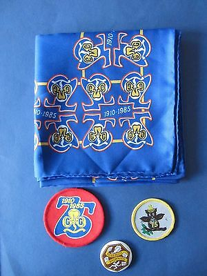 Collection of 4 Vintage 1980s Guiding Celebration Items
