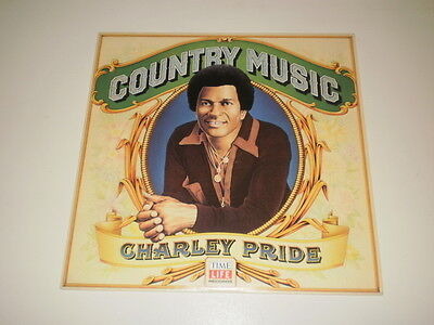 Charley Pride - Country Music - Lp 1981 Time Life Records Made In U.s.a. M-/ex+