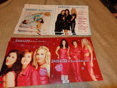 SHeDAISY *Eight 2000 Brand New Year Promotional Cardboard Poster Flats!