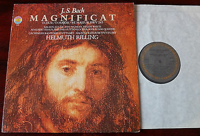 Cbs 76 884 Bach Magnificat Bwv 243 Demo Lp Rilling Nm Germany