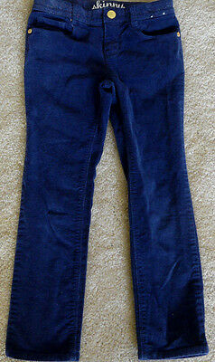 Gymboree  Corduroy Pants Skinny Stretch Design Size 6 Aadjustable Waist