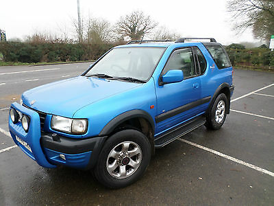 Vauxhall Frontera Sport Rs Blue
