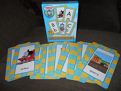 Thomas & Friends ABC Learning Cards