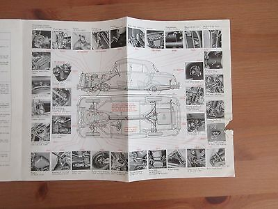 vintage MERCEDES BENZ TYPE 220S instruction manual