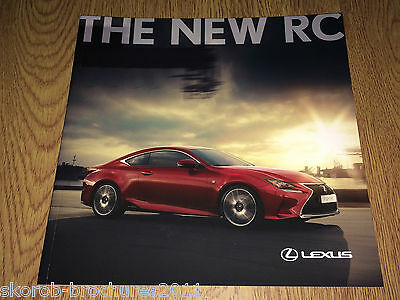 LEXUS - The  New RC Sales Brochure 2016