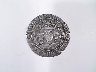 Siver Hammered Coins-Henry V1 Annulet Issue Groat (Calais)