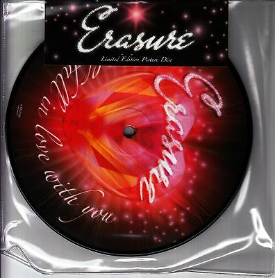 """ERASURE I Could Fall In Love With You limited vinyl picture disc 7"""" NEW/SEALED"""