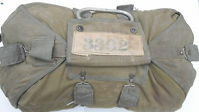 24 Ft QAC Irwin Chest Pack Dated July 1985 Parachute