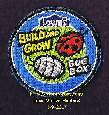 LMH PATCH Badge  2010 BUG BOX Bugbox Beetle Insect LOWES Build Grow Workshop