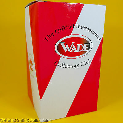 """Wade Whimsies (6-1/8"""" H x 3-1/2"""" L x 3-1/2"""" W) Red/White (1 Box per Package)"""