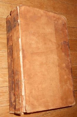 1825 Antique Book Physiologie des Passions by Alibert - 2 vol.s - leather