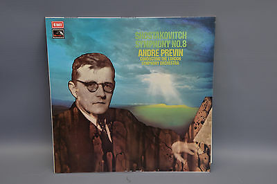 EMI ASD 2917 Shostakovich no 8 op 65 Previn LSO - beautiful example of great LP.