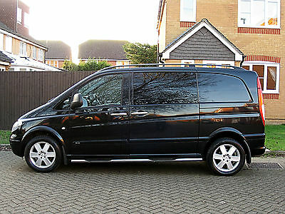 2008 Mercedes Vito 115 Sport 2.2 Cdi 150 Bhp 6 Speed 6 Seater Lovely Cond Viano