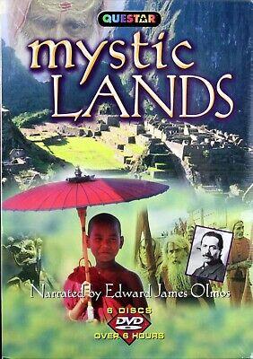 Mystic Lands Gift Box Brand NEW 6 DVDs Discover 13 Spiritual Places of the World