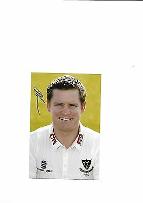 Sussex Ccc - Ben Brown  (Hand Signed)