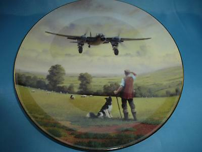 Royal Doulton Plate Defenders Of The Realm Series Mosquito Landing PN184