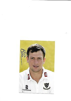 Sussex Ccc - Harry Finch  (Hand Signed)