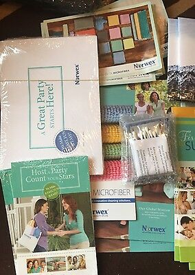 Huge Lot Of Norwex Consultant Supplies