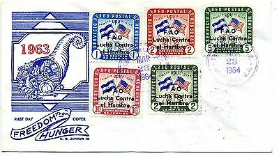 Honduras 1963 Freedom from Hunger first day cover