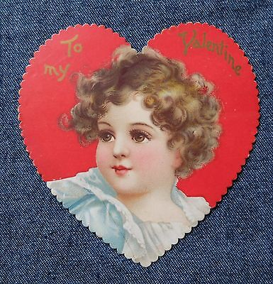 Lot 9 Vintage 1960's Small Valentine Card
