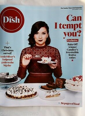 DISH Dec 2016 Christmas Candice BROWN Exclusive Jamie OLIVER Turkey Gravey Roast