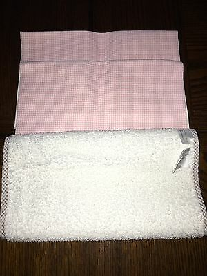 Lot of Baby Girl Changing Diaper Lap Pads 3 Total