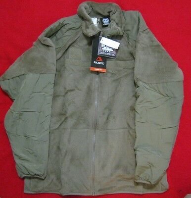 Gen Iii L 3  Polar Fleece Jacket Coyote Usa Made Issue Nwt Level 3 Large Long