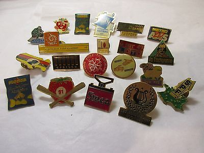 job lot (20) pin badges