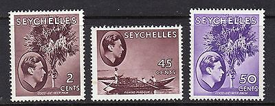 Seychelles 1938 King George Vi Scenes Issue