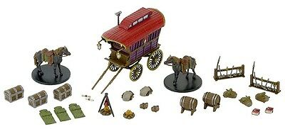 Dungeons&Dragons Miniatures Set 6 Monster Menagerie II Adventurers Camp