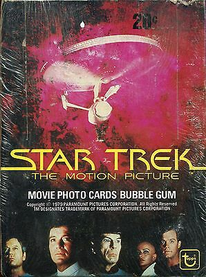 Star Trek The Motion Picture 1979 Topps Trading Card Box