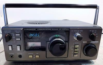 Kenwood R-1000 .2 - 30 MHz AM SSB CW Ham All Mode Radio Communications Receiver