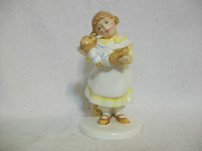 Royal Doulton What's The Matter? Signed Figurine- #HN3684