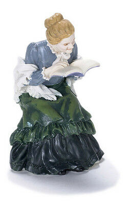 Dolls house poly/resin figure,1/12th scale Granny