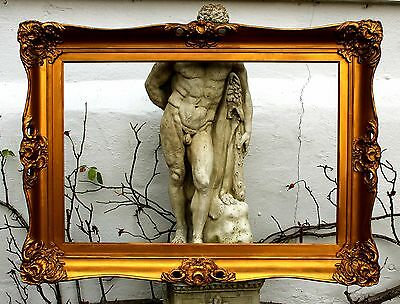 Beautiful Large C19th Victorian Highly Ornate Rococo Pierced Gilt Gesso Frame