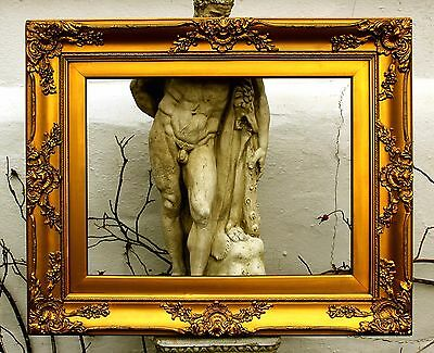 Stunning Late C19th Victorian Highly Ornate Rococo Gilt Gesso Frame