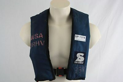Life jacket Secumar BS 150 Alpha Lifejacket Lifejacket Canoeists CO2 1374