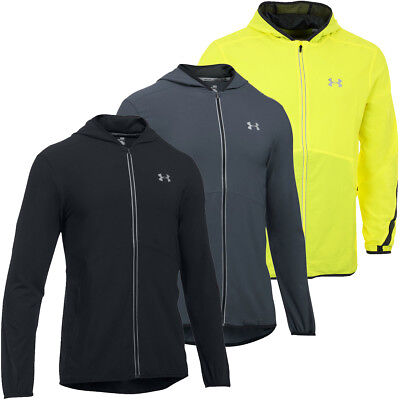 Under Armour 2017 Mens UA Run True SW Jacket Fitted Launch Full Zip Running Top