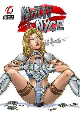 Notti & Nyce #13  Nice Ltd. Ed. 150 with Cover by Marat Mychaels