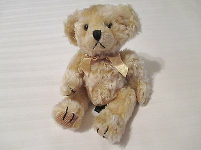 "Russ Berrie Bears from the Past COSGROVE Beige Bear Plush Stuffed Toy 6"" EUC"