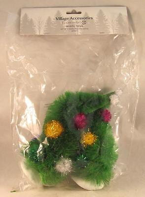 Dept 56 General Village Accessory Wonky Trees Set of 2 #4032417 New in Bag
