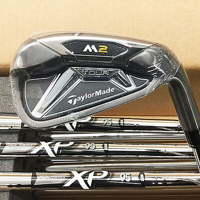Taylormade 2016 M2 Tour Iron Set 4-Pw, Aw Xp 95 Steel Stiff Flex Rh New!! 17441