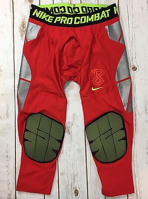 NWT Nike Pro Hyperstrong Slider Tight Mens Baseball Pants Red Size Large NEW