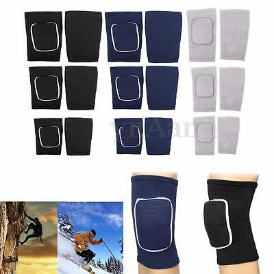 2x Knee Support Pad Strap Brace Sports Injury Protection Running Gym Guard S M L
