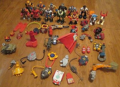 Large Lot Fisher Price Rescue Heroes & Accessories - Over 40 Pieces